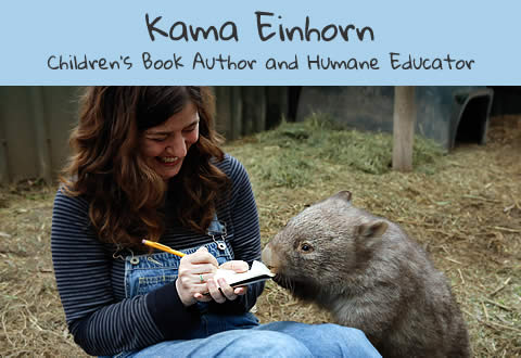 Kama Einhorn - Children's Book Author and Humane Educator